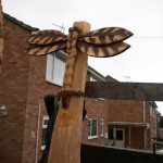 Carved Dragon Fly